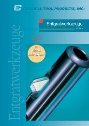 Entgratwerkzeuge Katalog Cogsdill - Kempf