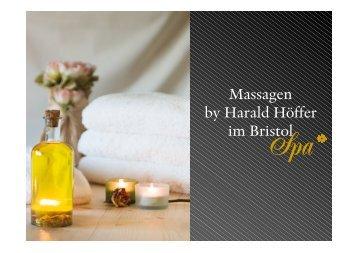 Massagen Broschüre 2013