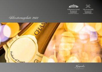 Silvesterangebote 2013 - Kempinski Hotels