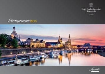 Arrangements 2013 - Kempinski Hotels