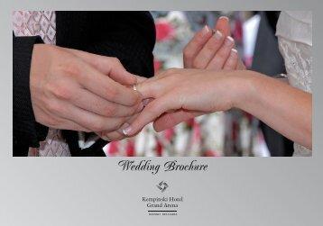 Wedding Brochure - Kempinski Hotels
