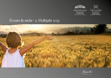Eventkalender - Kempinski Hotels