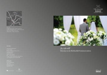 Hochzeitsfolder (PDF) - Frankfurt Locations