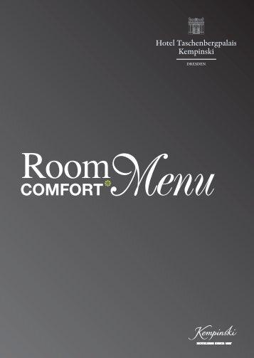 COMFORT Menu - Kempinski Hotels