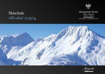 Download Skischule Angebote und Preise - Kempinski Hotels