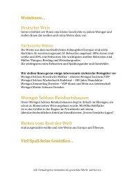 Weinkarte IM 13.01.14 - Kempinski Hotels