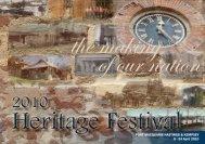 Heritage Festival Booklet 2010