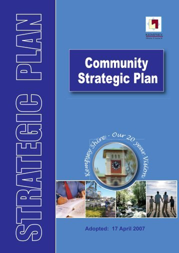 Strategic Plan Community - Kempsey Shire Council