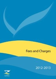 Fees and Charges 2012-2013 - Kempsey Shire Council