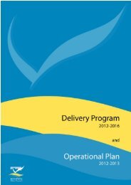 Delivery Program 2012-2016 and Operational Plan 2012-2013 (PDF ...