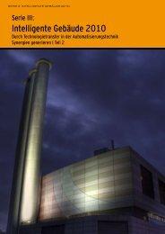 Intelligente Gebäude 2010 - Kemptner
