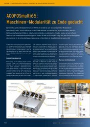 erschienen in x-Technik AUTOMATION 5/2011 - Kemptner