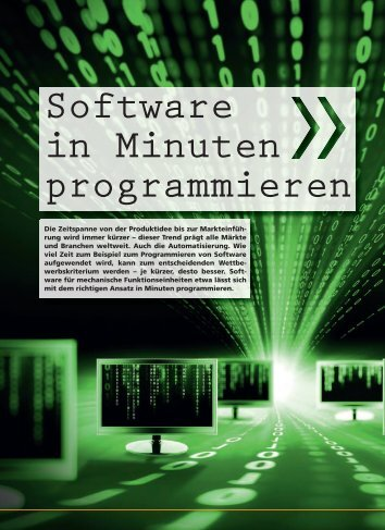 Software in Minuten programmieren - Kemptner