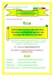 Saisie électronique des données: Nouveau système de gestion des ...