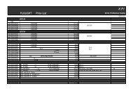 FLOLIGHT Price List - KPI