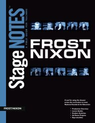 FROST/NIXON - The John F. Kennedy Center for the Performing Arts