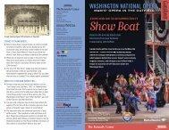 WASHINGTON NATIONAL OPERA - The John F. Kennedy Center ...