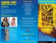 Look Both Ways Brochure - The John F. Kennedy Center for the ...