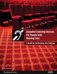 Assistive Listening Devices for People with Hearing Loss