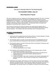 THE SUZANNE FARRELL BALLET Mixed Repertoire Program