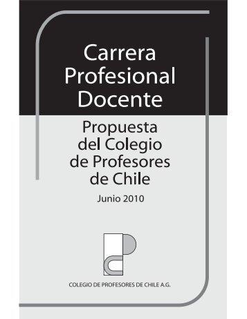 Propuesta carrera docente Colegio de Profesores
