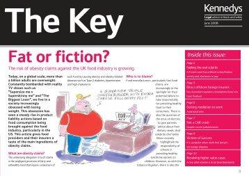 Download The Key - Summer 2008 (PDF, 359KB). - Kennedys