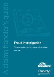 Fraud Investigation - CILA/The Chartered Institute of Loss Adjusters