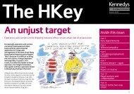 Download Hong Kong Key - Autumn 2007 (PDF, 784KB). - Kennedys