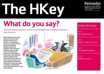 Download Hong Kong Key - Summer 2008 (PDF, 463KB). - Kennedys