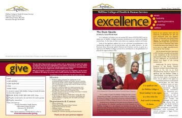 Volume 12, Issue 1 - Spring 2012 - Kennesaw State University