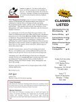 Center for University Learning Summer catalog of classes - Page 2