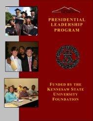 presidential leadership program - Kennesaw State University