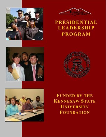 presidential leadership program - Kennesaw State University