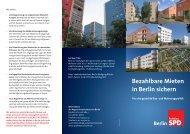 Bezahlbare Mieten in Berlin sichern - Daniel Buchholz