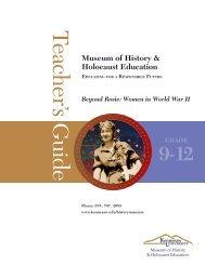 Beyond Rosie: Women in World War II - Kennesaw State University