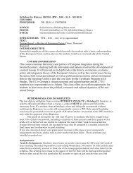 HIST 3307 (Intro to European Union) - Kennesaw State University