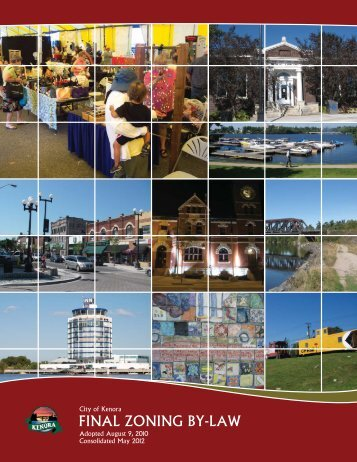 Consolidated Zoning By-law - Kenora.ca