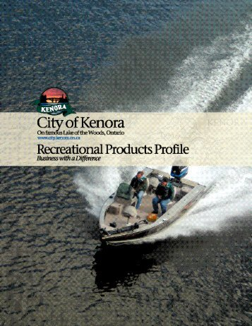 Recreational Products Profile - Kenora.ca