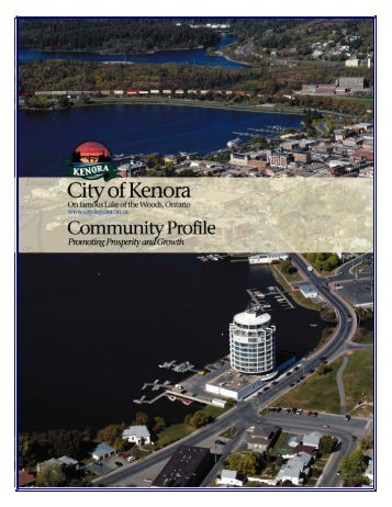 TABLE OF CONTENTS - Kenora.ca