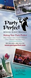 We Also Sell New and Used Equipment - Party Perfect