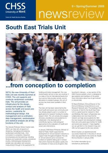 chss newsletter8 - University of Kent