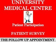 to see the results - University of Kent