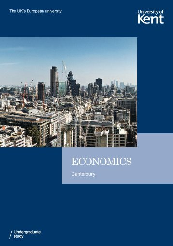 ECONOMICS - University of Kent