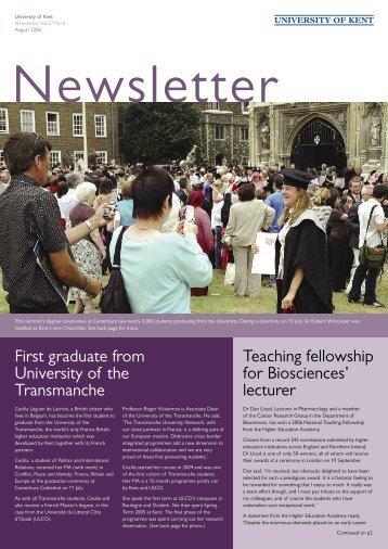 Download pdf file - University of Kent