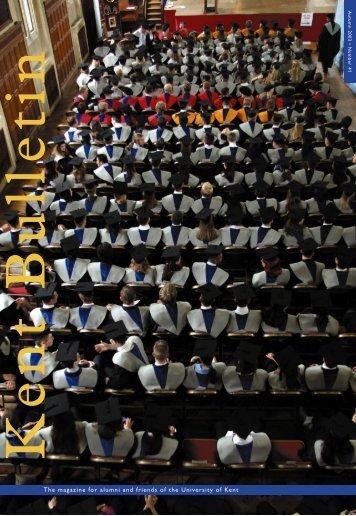Autumn 2003 - University of Kent