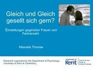 3. Die Studien - University of Kent