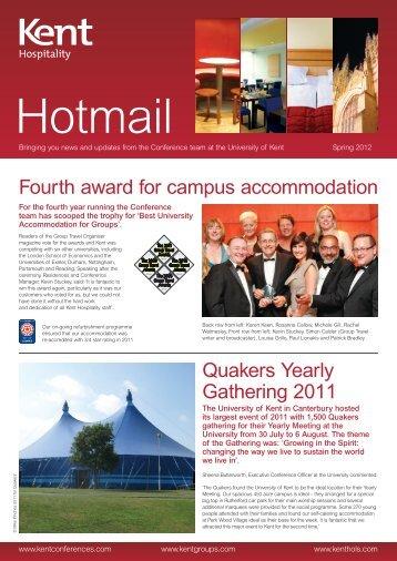 Hotmail - University of Kent