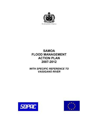 samoa flood management action plan 2007-2012 - Pacific Disaster ...