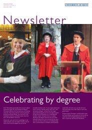 Newsletter - University of Kent