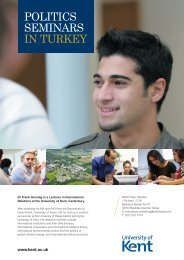 Studying international institutions and their ... - University of Kent